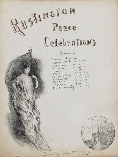 Peace Celebrations, Rustington, 1919 -
