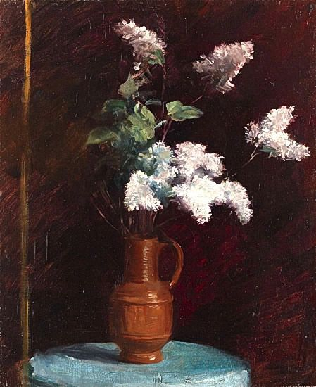 Still life with White Lilacs -
