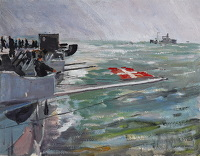Artist Charles Cundall: In the Bay, 1947