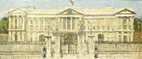 Artist Harry Bush: Buckingham Palace, 1930s