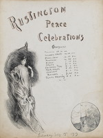Artist Albert de Belleroche: Peace Celebrations, Rustington, 1919